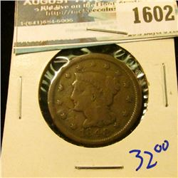 1602 _ 1848 Braided Hair Large Cent