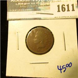 1611 _ 1874 Semi Key Date Indian Head Cent