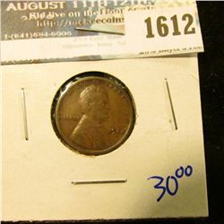 1612 _ 1922-D Semi Key Date Wheat Cent