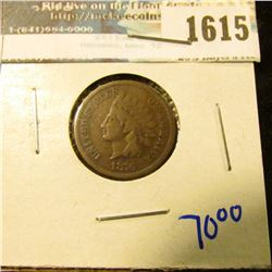 1615 _ 1876 Indian Head Cent
