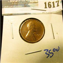 1617 _ Brownish Red 1909-Vdb Wheat Cent