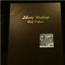 1620 _ Walking Liberty Half Dollar Coin Book