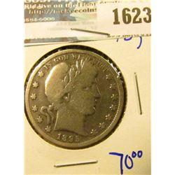 1623 _ 1895 Barber Half Dollar