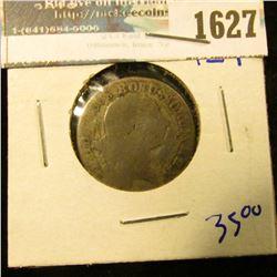1627 _ 1765 German States Silver 12 Einen Thaler Coin