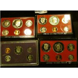 1630 _ 1976, 1977, 1979, And 1987 Proof Sets