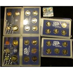 1637 _ 1999 Proof Set, 2000 Proof Set, 2003 Proof State Quarters, And 2000 Proof State Quarters