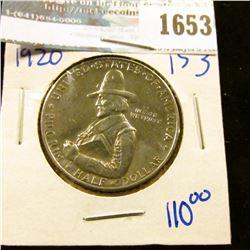 1653 _ 1920 Pilgrim Tercentary Commemorative Half Dollar
