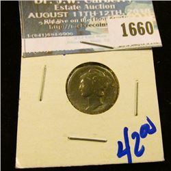 1660 _ Key Date 1921 Mercury Dime