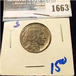 1663 _ 1937-S Buffalo Nickel