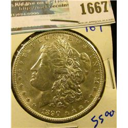 1667 _ 1890 Morgan Silver Dollar