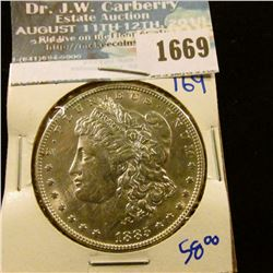 1669 _ 1885 Morgan Silver Dollar