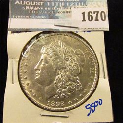 1670 _ 1898 Morgan Silver Dollar