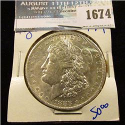 1674 _ 1883-O Morgan Silver Dollar