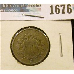 1676 _ 1868 Shield Nickel