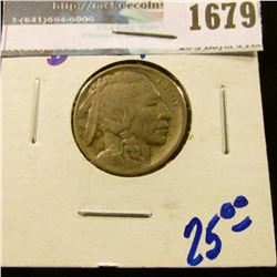 1679 _ 1913-D Type 1 Buffalo Nickel With Full Horn