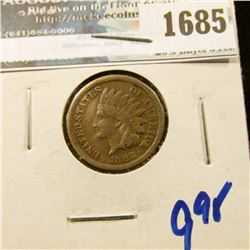 1685 _ 1862-Cn Indian Head Cent