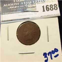 1688 _ 1864-L Indian Head Cent