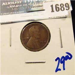 1689 _ 1914-S Semi Key Date Indian Head Cent
