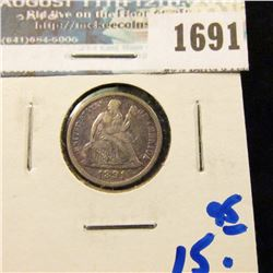 1691 _ 1891 Seated Liberty Dime