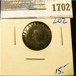 1702 _ Ancient Bronze Roman Coin