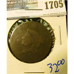 1705 _ 1819 Coronet Head Large Cent
