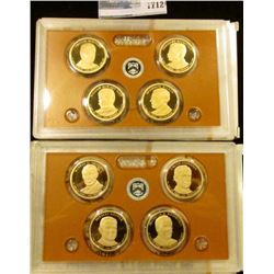 1712 _ 2013 And 2014 Presidential Proof Sets.  They Start With William Mckinley And Ends With Frankl