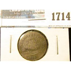 1714 _ German States/ Bavaria 6 Kreuzer Coin