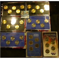 1721 _ (7) State Quarter Sets All For One Money