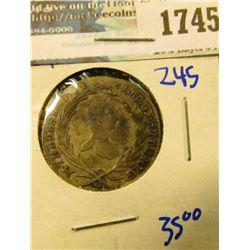 1745 _ Austria Silver 1764 10 Kreuzer Coin