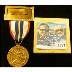 1771 _ 1970 Bronze Medal For The 79th Anniversary Convention Of American Numismatic Association