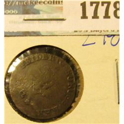 1778 _ Poland/ East Prussia 1773-E 2 Grossus Silver Coin