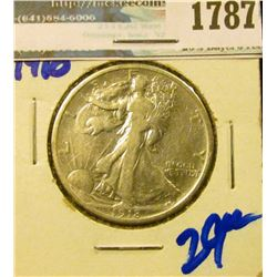 1787 _ 1918 Walking Liberty Half Dollar