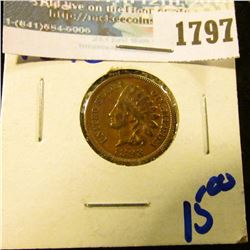 1797 _ 1893 Indian Head Cent With Full Liberty