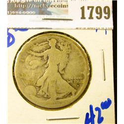 1799 _ 1916-D Walking Liberty Half Dollar