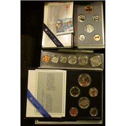 1808 _ 1985 & 1996 Canada Specimen Sets; & 1969 Canada BU Year Set in snap-tight case.