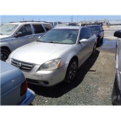 NISSAN ALTIMA 2003 T-DONATION