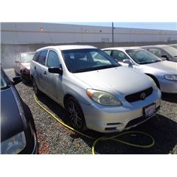 TOYOTA MATRIX 2004 T-DONATION