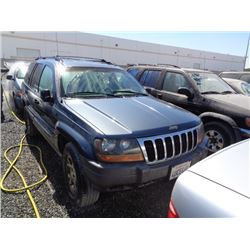 JEEP GR CHEROKEE 2001 T-DONATION