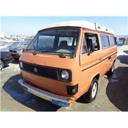 VW VANAGON WESTFALIA 1981 APP  DUP/T-DON