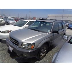 SUBARU FORESTER 2005 T-DONATION
