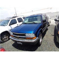 CHEVROLET BLAZER 2000 T-DONATION