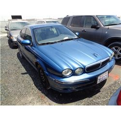 JAGUAR X-TYPE 2002 L/S-DONATION