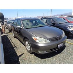 TOYOTA CAMRY 2003 T-DONATION