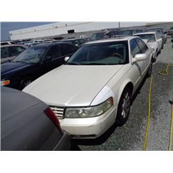 CADILLAC SEVILLE  2001 SALV T/DONATION