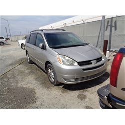 TOYOTA SIENNA 2005 O/S T-DONATION