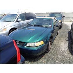 FORD MUSTANG 2000 T-DONATION