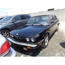 BMW 535I 1985 APP  DUP/T-DON
