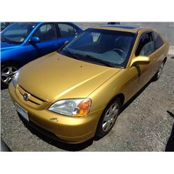 HONDA CIVIC 2001 O/S T-DONATION