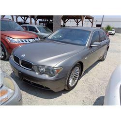 BMW 745I 2003 T