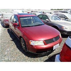 VW PASSAT 1999 T-DONATION